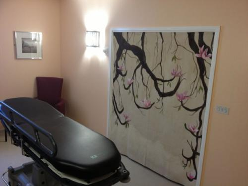 Painting for the family room at University Hospitals Coventry & Warwickshire